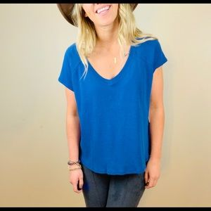3/20$ Threads for Thought NWT Blue Top